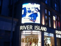 River Island see first installs of Lumenal lightboxes